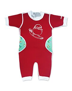 Cheekaaboo Warmiebabes Suit - Red/Toucan - S (6-12M)