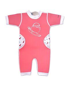 Cheekaaboo Warmiebabes Suit - Salmon Pink/Flamingo - XL (2-4Y) - 20% OFF!!