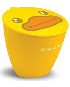 SEMK: B.Duck Rubbish Bin - Yellow