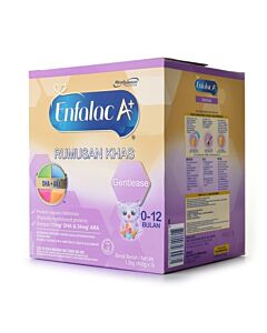 Enfalac A+: Gentlease (0-12 Months) - 1.2kg