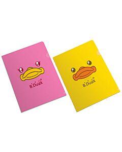 SEMK: B.Duck L-Folder - Yellow/Pink