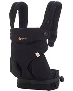 Ergobaby: Four Position 360 Carrier - Pure Black - 20% OFF!