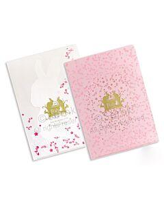 SEMK: Rabbit L-Folder - White/Pink