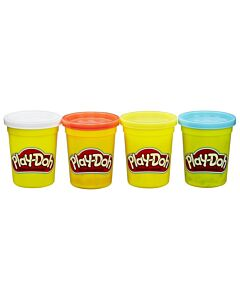 Play-Doh: 4 Packs of Classic Colors Asst. [Colors May Vary] (2 Years Old & Above) - 17% OFF!!