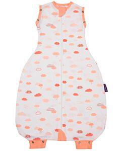 Clevamama: 3-in-1 Nite Nite Romper - Swaddle, Sleep Bag & Baby Romper - Coral (0-9 months)