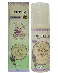 Tropika: Baby Hair and Body Oil - Lavender (30ml) - 20% OFF!