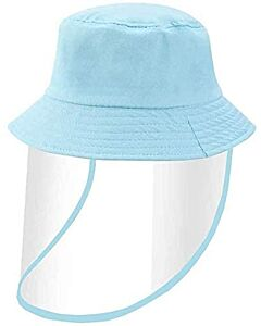 Face Shield / Kids Protective Hat - Blue
