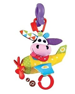 Yookidoo: Tap 'N' Play Musical Plane - Cow (from 0 - 12 Months) - 15% OFF!!