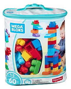 Mega Bloks: Big Building Bag (60pcs) - Classic - 36% OFF!!