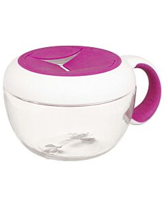 OXO TOT: Flippy™ Snack Cup with Travel Cover - Pink - 25% OFF!