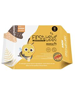 K-Mom: First Wet Wipes Promise (10pcs)