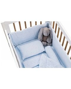 Funbies: Clover Baby Cot 6 in 1 Bedding Set *Value Set* (Blue Star) - 5% OFF!!