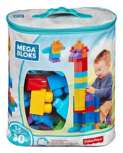 Mega Bloks: Big Building Bag (80pcs) - Classic - 31% OFF!!
