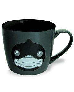 SEMK: B.Duck Ceramic Mug - Black