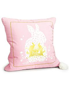 SEMK: Rabbit Cushion with Blanket