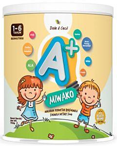 MIWAKO A+ Plant-based Formula Milk 700g (1-6 years old)