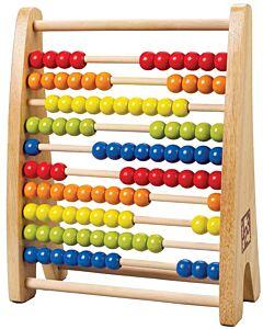 Hape Toys: Rainbow Bead Abacus - 10% OFF!!