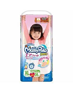 MamyPoko Air Fit Pants GIRL XL38 (12-17kg)