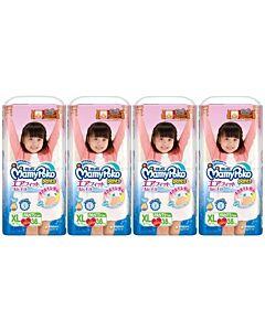 MamyPoko Air Fit Pants GIRL XL38 (12-17kg) *4 pack bundle*