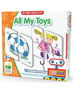 The Learning Journey My First Match It! All My Toys - 15% OFF!!