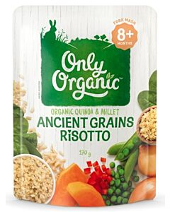 Only Organic: Ancient Grains Risotto 170g (8+ Months) - 10% OFF!!