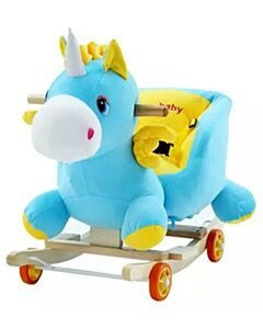 Coby Play Rocking Animal - Unicorn (Blue) - 50% OFF!!