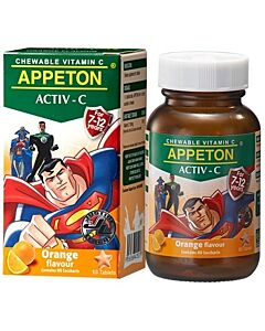 Appeton Activ-C (Orange) Tablets 60's (For 7-12 Years Old) - 10% OFF!
