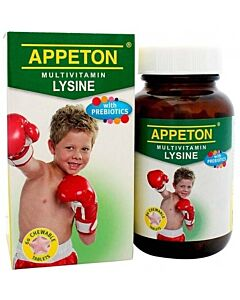 Appeton MultiVitamin Lysine with Prebiotic Tablets 60's - 6% OFF!!