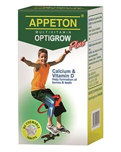 Appeton MultiVitamin Optigrow Plus Tablet 60's - 10% OFF!!