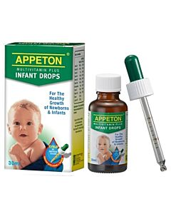 Appeton MultiVitamin Plus Infant Drops 30ml - 5% OFF!!