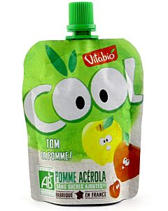 Vitabio Organic Cool Fruits - Apple + Acerola 90g - 5% OFF!!
