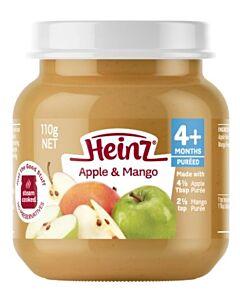 Heinz: Fruit Apple & Mango 110g (From 6+ Months)