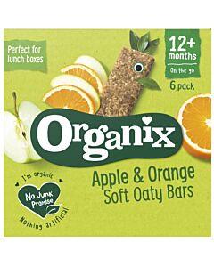 Organix Goodies Apple & Orange Soft Oaty Bars 6 x 30g (12+ Months)