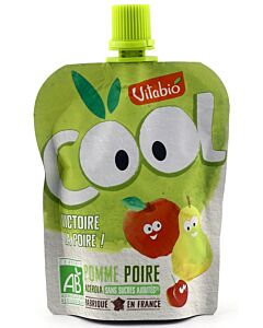 Vitabio Organic Cool Fruits - Apple Pear + Acerola 90g - 5% OFF!!