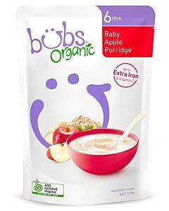 Bubs Organic Baby Apple Porridge 125gm (6+ Months) - 9% OFF!!