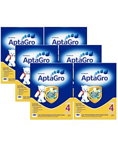 Aptagro Step 4 (4-9 years) 1.2kg - 6 TIN COMBO