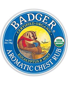 Badger Balm: Aromatic Chest Rub 2oz - 15% OFF!!