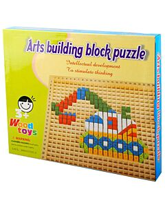 Funny Kid's: Art Building Block Puzzle - 10% OFF!!
