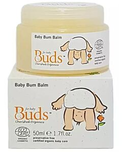 Buds Cherished Organics: Baby Bum Balm 50ml - 15% OFF!