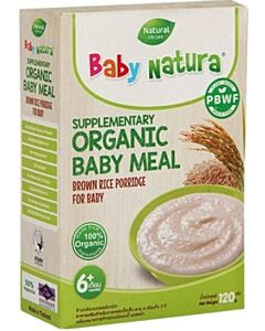 Baby Natura: Organic Brown Rice Porridge