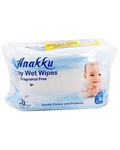 Anakku: Baby Wet Wipes 30's x 2 (Anti-bacterial)