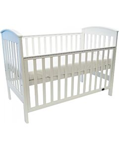 Babyhood Classic Curve 4-in-1 Convertible Cot (White) - 10% OFF!!