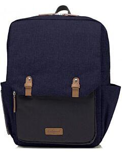 Babymel: George Backpack - Black/Navy Melange - 15% OFF!!