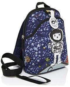 BabyMel: Mini Backpack & Safety Harness / Reins Age 1-4 Years (Spaceman) - 15% OFF!!