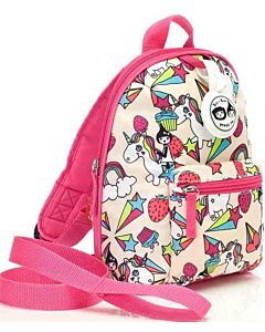 BabyMel: Mini Backpack & Safety Harness / Reins Age 1-4 Years (Unicorn) - 15% OFF!!
