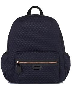 Babymel Luna Ultra Lite Diaper Backpack - Navy (Scuba Emboss) - 20% OFF!!