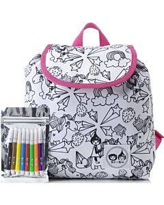 Babymel: Zip & Zoe Colour & Wash Backpack - Unicorn - 20% OFF!!