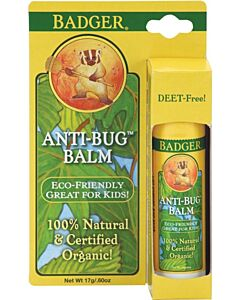 Badger Balm: Anti-Bug Balm 0.6oz - 10% OFF!!