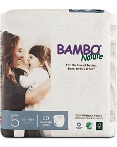 Bambo Nature Dream Junior Pants | 20 Pieces - Size 5 (12 - 20kg) - 10% OFF!!