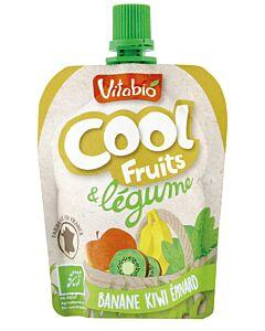 Vitabio Organic Cool Fruits & Vegetables - Banana, Kiwi & Spinach - 5% OFF!